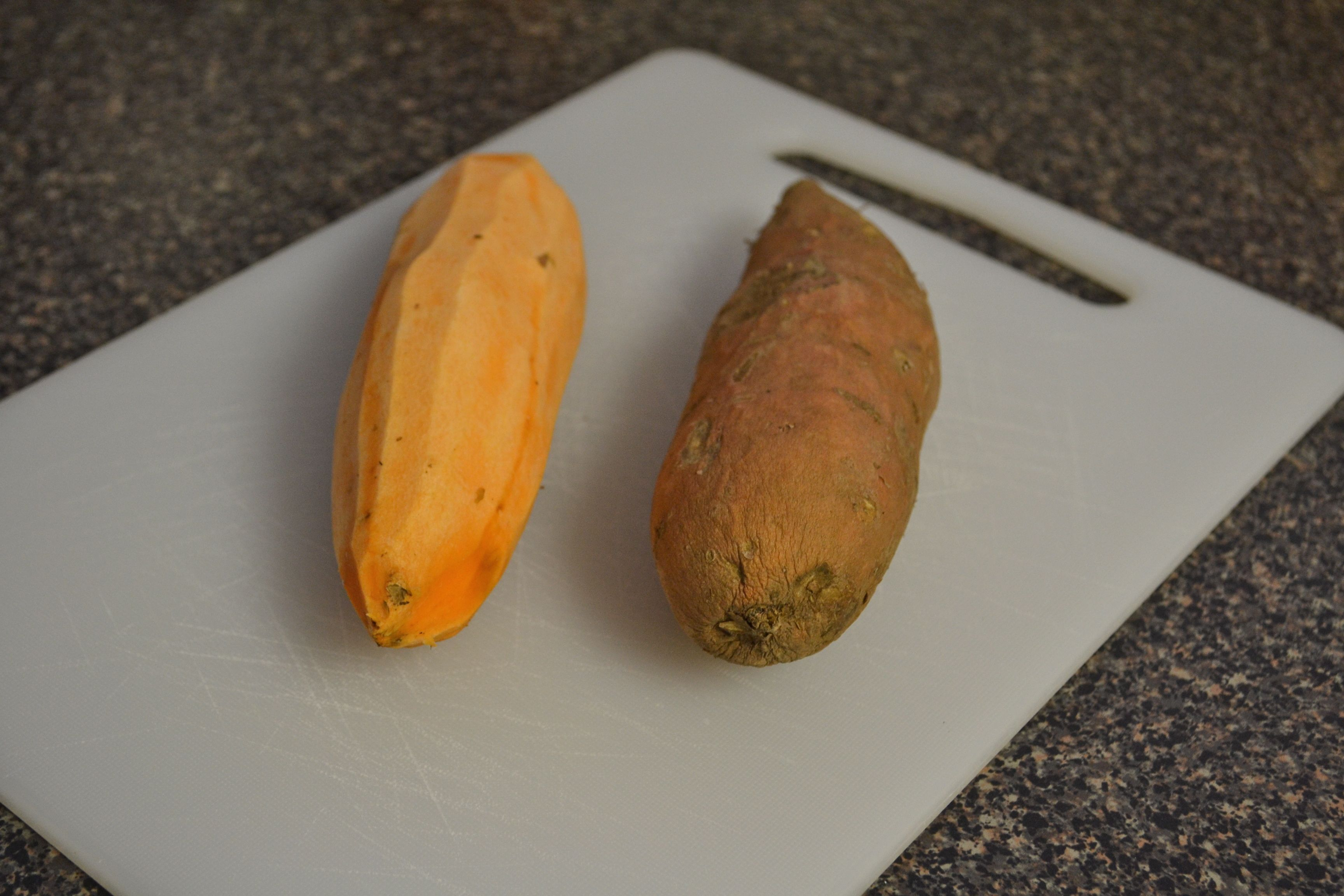 how to soften a sweet potato to cut