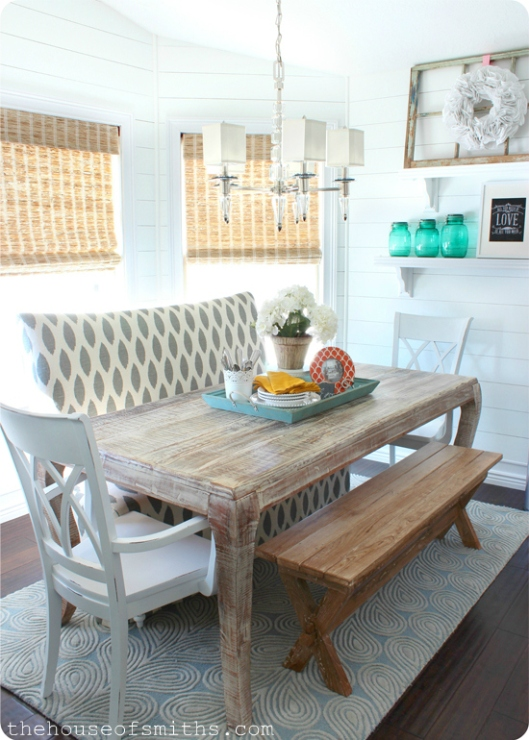 Modern Cottage Dining Room Makeover - thehouseofsmiths